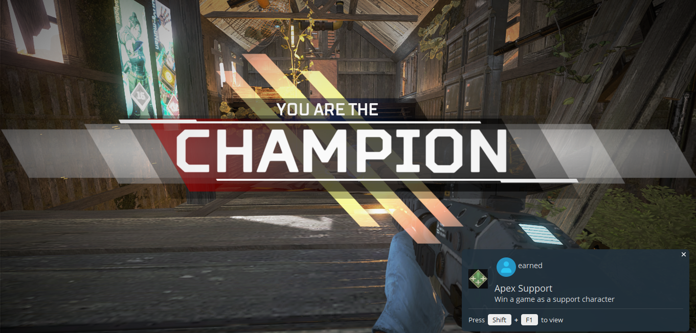 I Am An Apex Legends Champion Sleepless In Copenhagen
